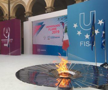 В Турине состоялась церемония зажжения огня Зимней универсиады-2019