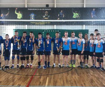 Волейболисты Буденновского района завоевали бронзовые медали.