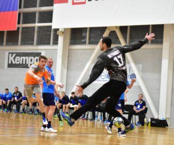 Гандболисты «Динамо Виктор» взяли верх над «Университетом Лесгафта-Нева» в матче чемпионата России