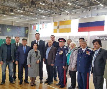 Будённовск посетила делегация из Калмыкии