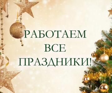 Идут Новогодние праздники!