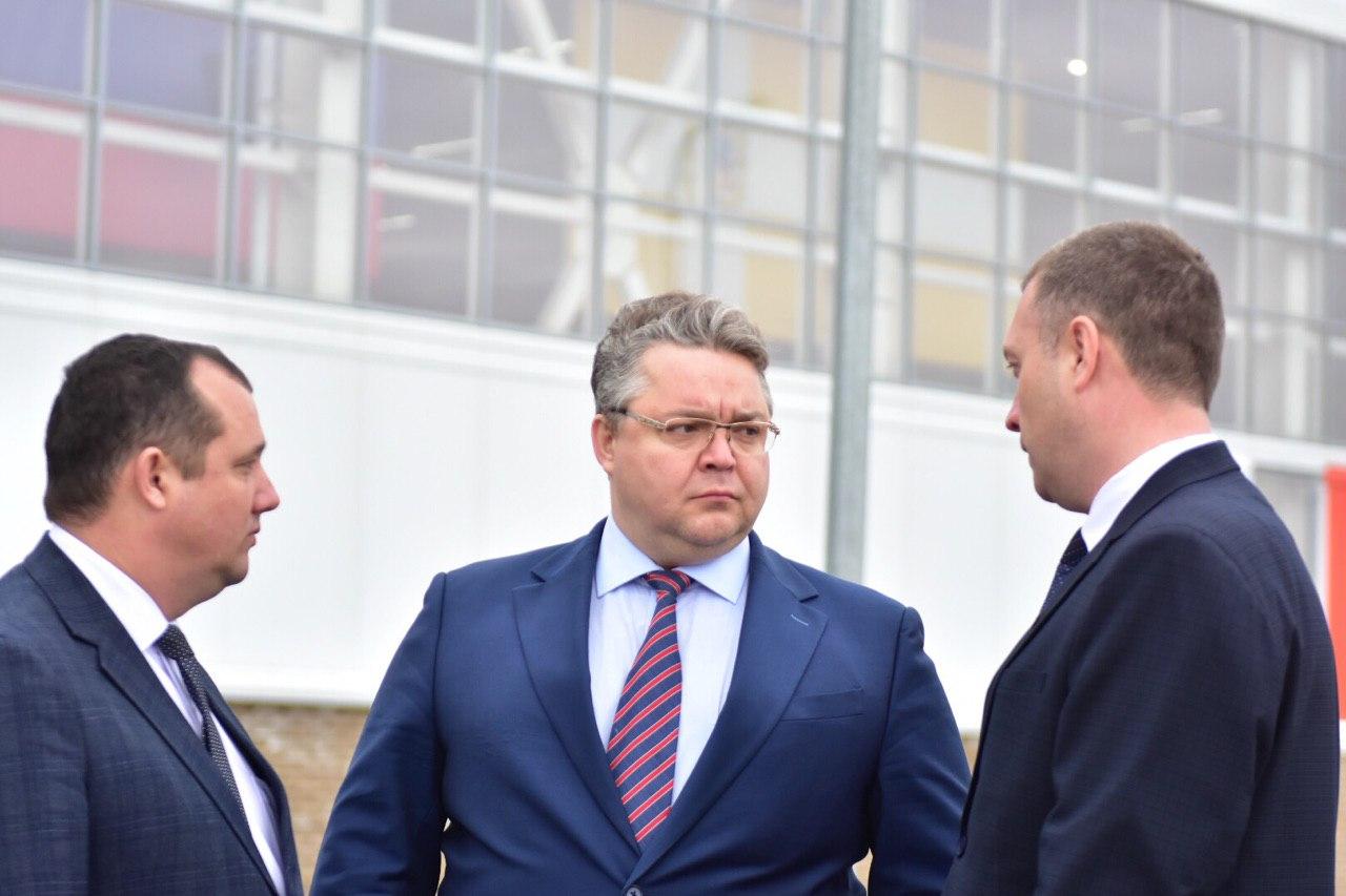 Будённовск с рабочим визитом посетил губернатор Ставрополья Владимир Владимиров и представители ПАО «ЛУКОЙЛ»