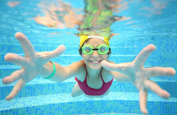 Набор юных пловцов