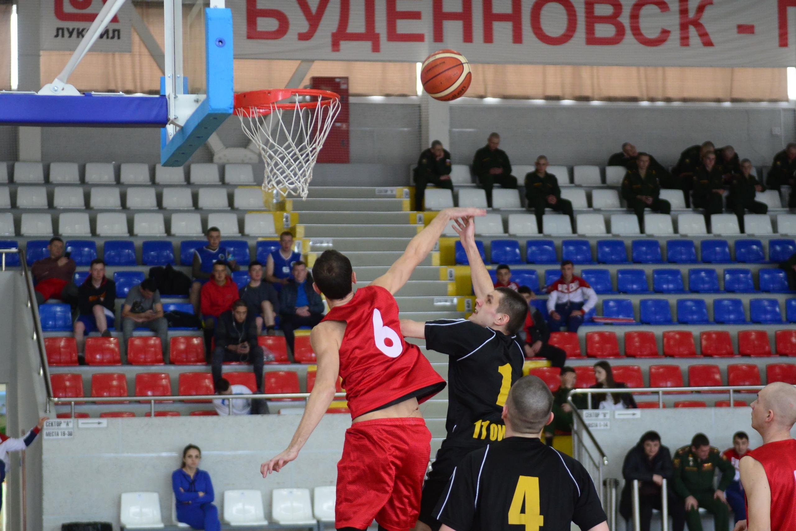 Баскетбольные сражения военных