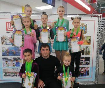 Кубок Буденновского района по фигурному катанию на коньках.