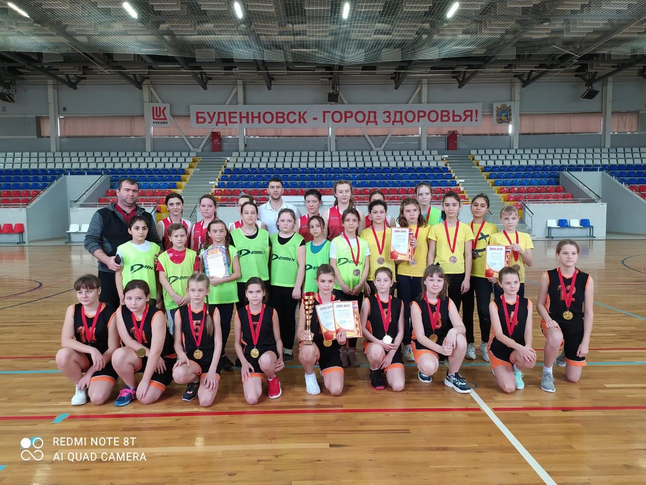 Баскетболистки отвоевали золото турнира